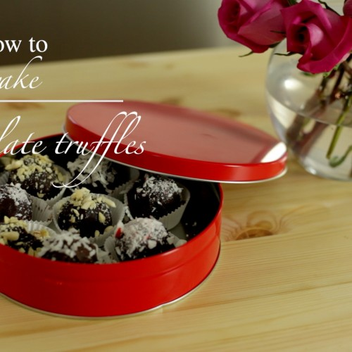 Valentine's Day: Chocolate Truffles – Video