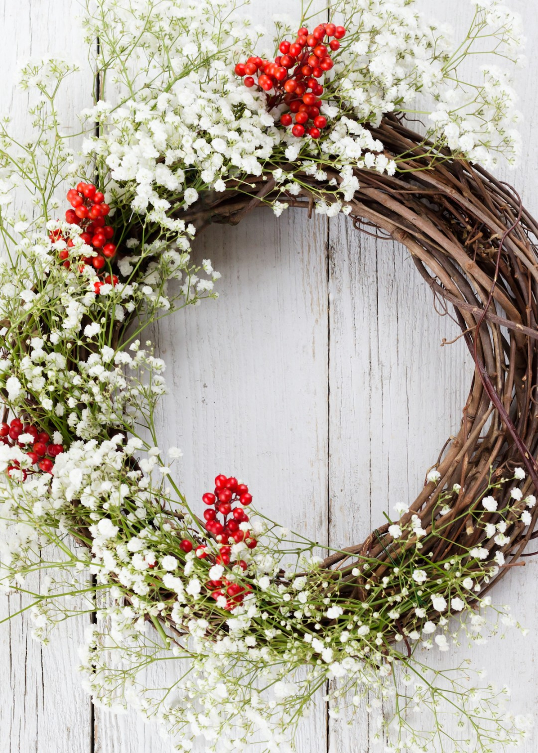 diy holiday wreath
