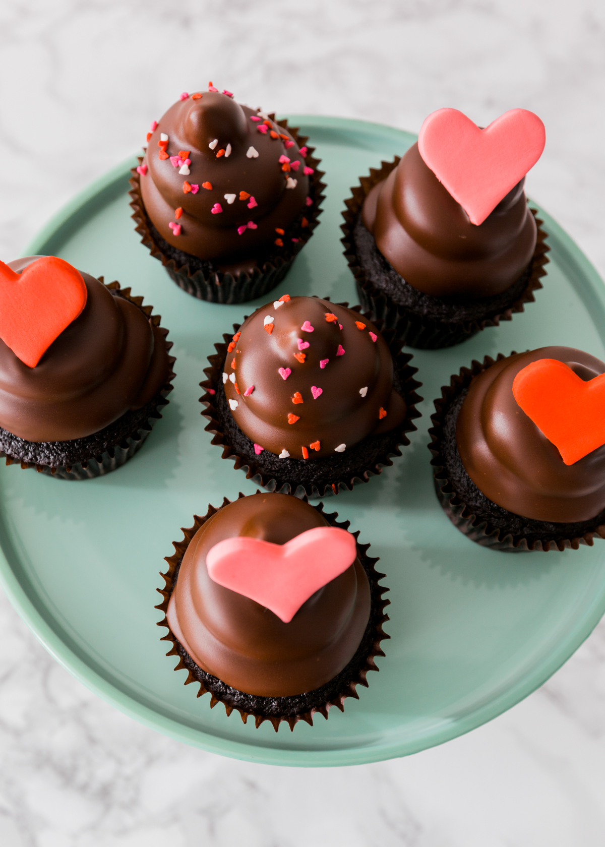 Chocolate dipped cupcakes recipe