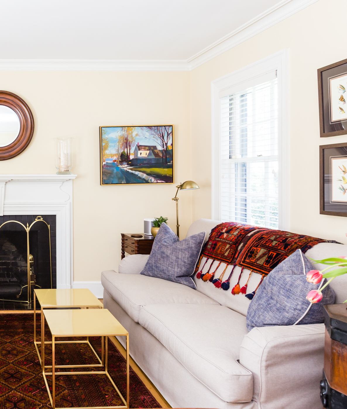 Home Tour: A Traditional Home with Bohemian Flair