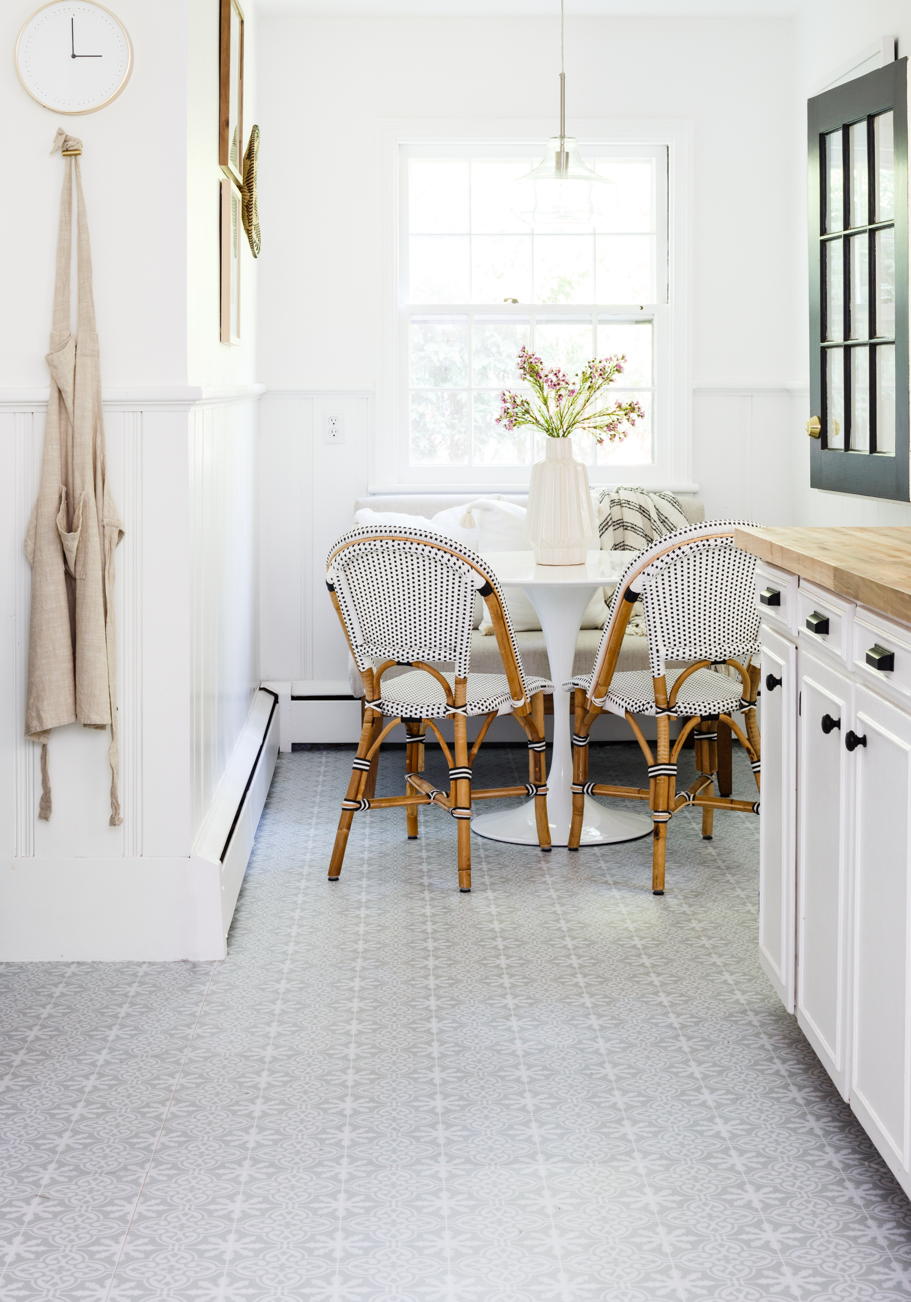The Low Down on my Peel and Stick Kitchen Floors